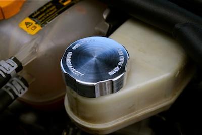Brake Reservoir Cap Billet